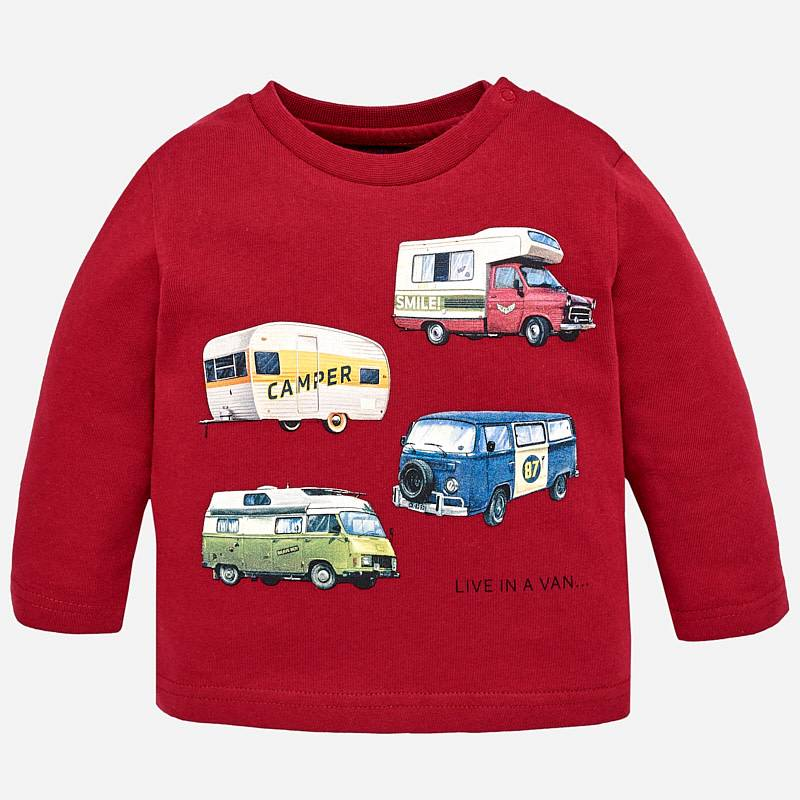 Mayoral Mayoral L/S Automobile Shirt