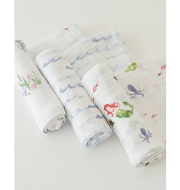Little Unicorn Little Unicorn Cotton Muslin Swaddle 3 Pack