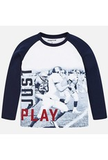 Mayoral Mayoral L/S Just Play T-Shirt