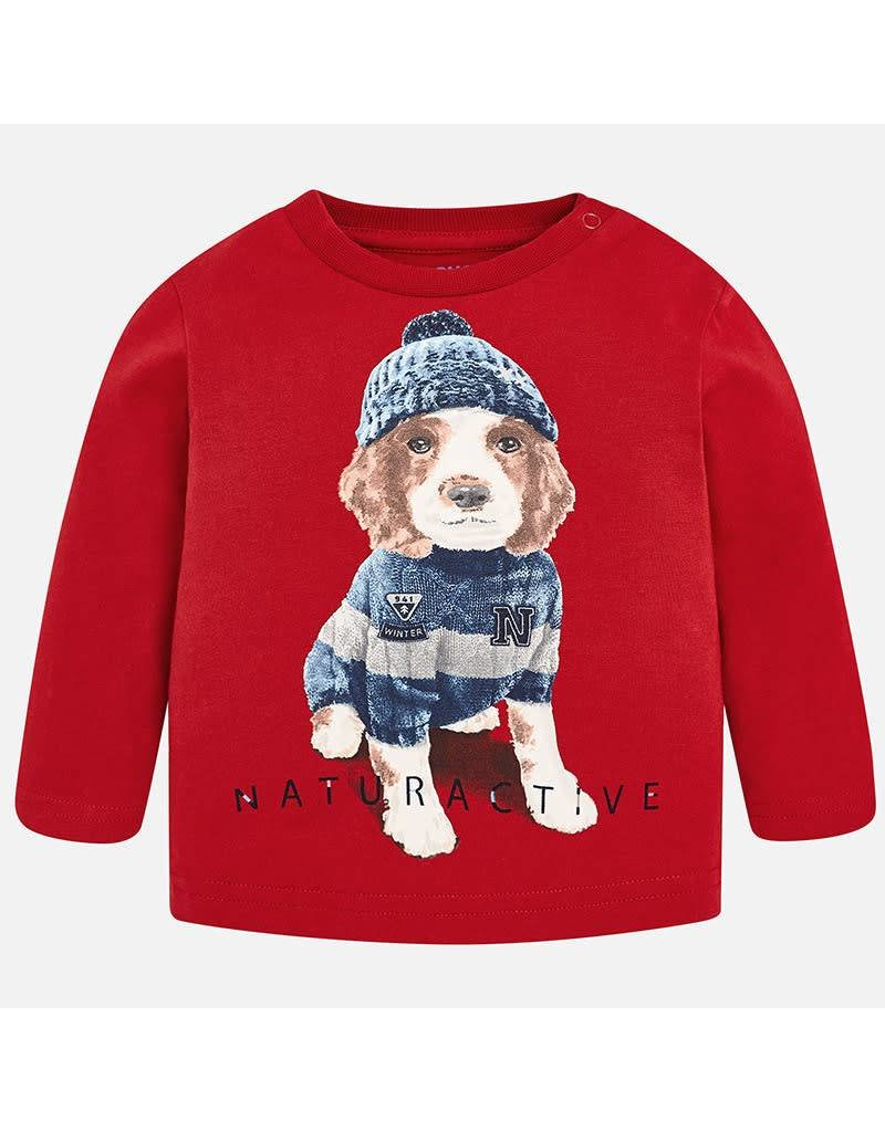 Mayoral Mayoral L/S Dog T-Shirt