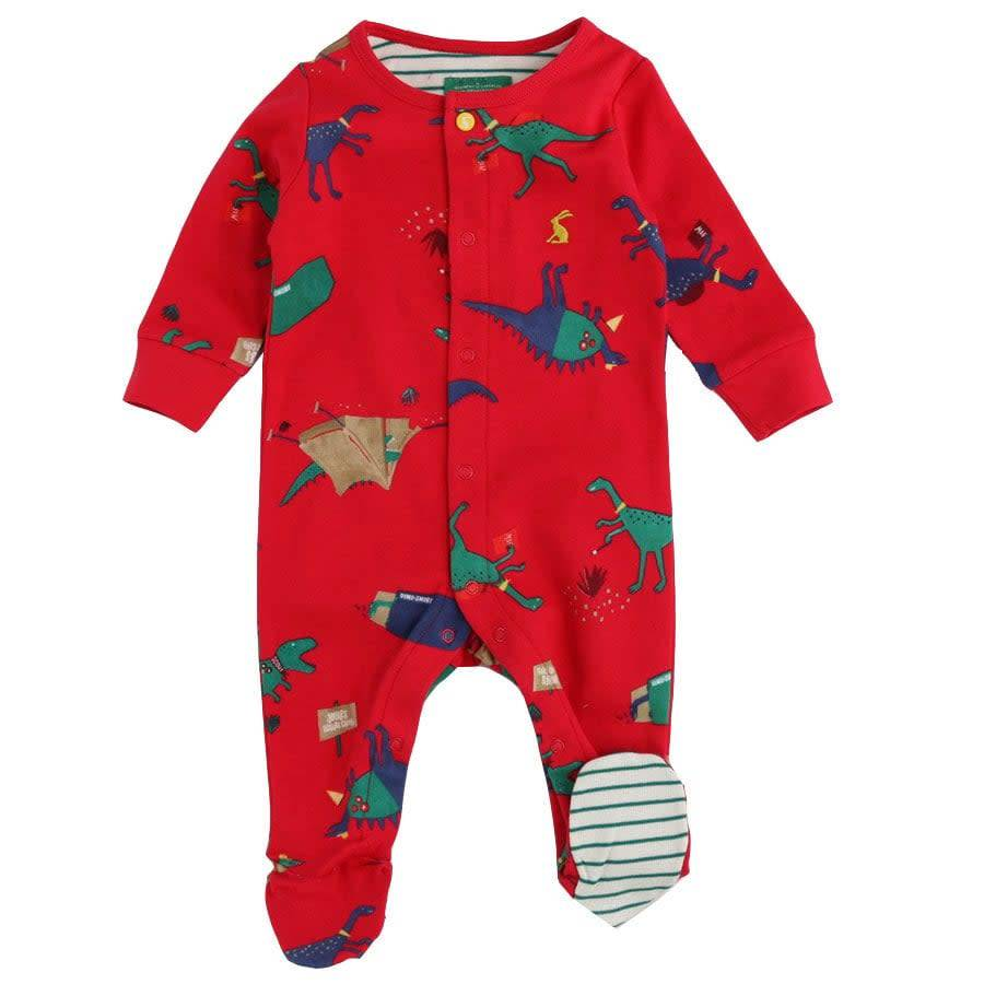 Joules Joules Baby Ziggy Printed Babygrow