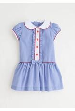 Little English Little English Apple Ruffled Alice Dress