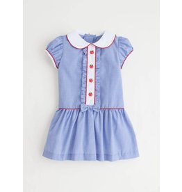 Little English Little English Apple Ruffled Alice Dress