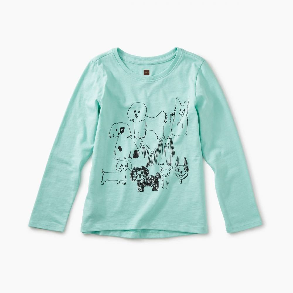 Tea Collection Tea Collection Park Pooches Graphic Tee