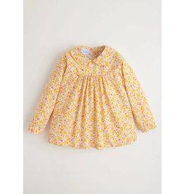 Little English Little English Marigold Floral Dunn Blouse