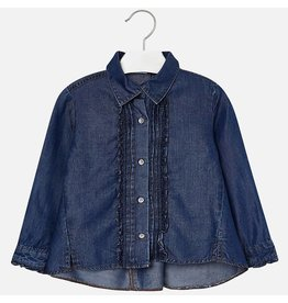 Mayoral Mayoral Denim Blouse