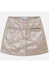 Mayoral Mayoral Leatherette Skirt