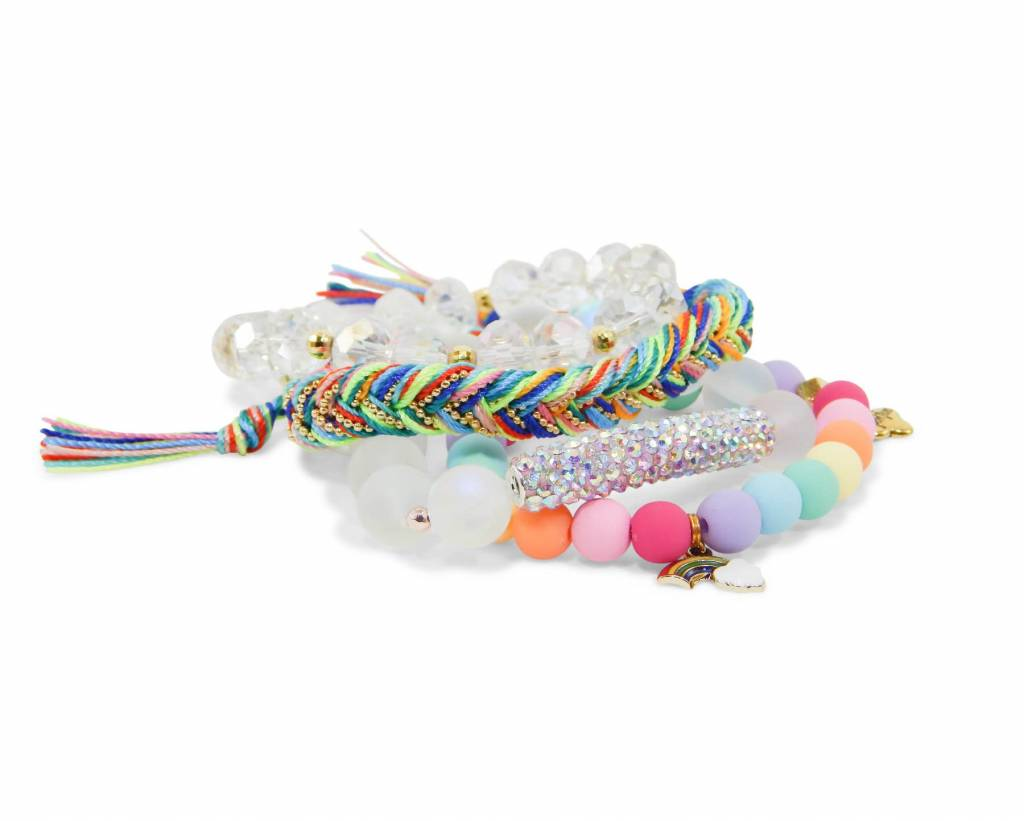 Erimish Erimish Gem Jam Pez Stack Bracelets