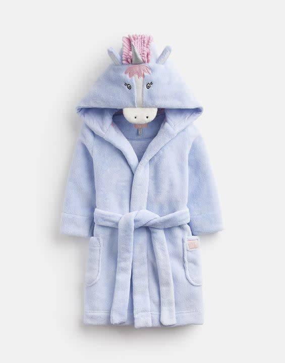 Joules Joules Unicorn Novelty Hood Robe