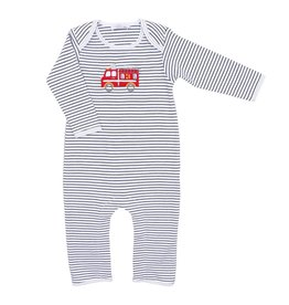 Magnolia Baby Magnolia Baby Sound the Alarm Applique Playsuit