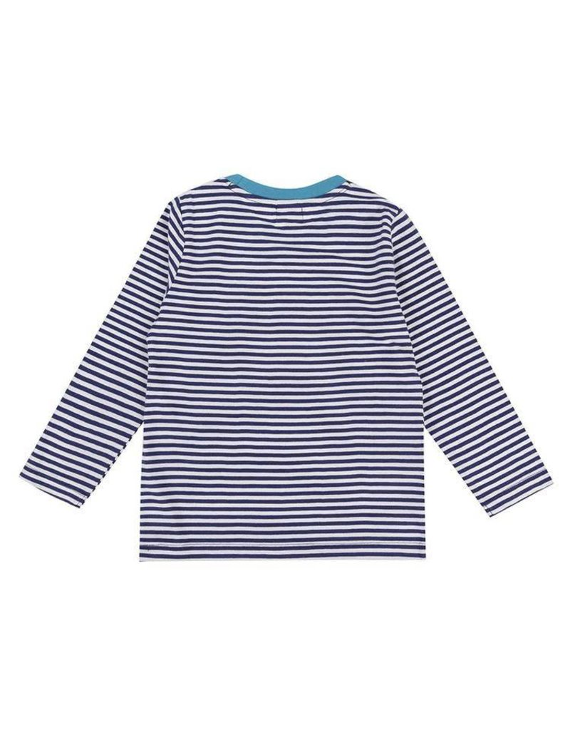 Lilly + Sid Lilly + Sid Stripe Dino Applique Top