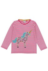 Lilly + Sid Lilly + Sid Unicorn Applique Top