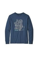 Patagonia Patagonia Boys' L/S Graphic Organic T-Shirt