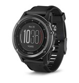 Garmin Garmin fenix 3 HR  - Watch Only - black silicone band
