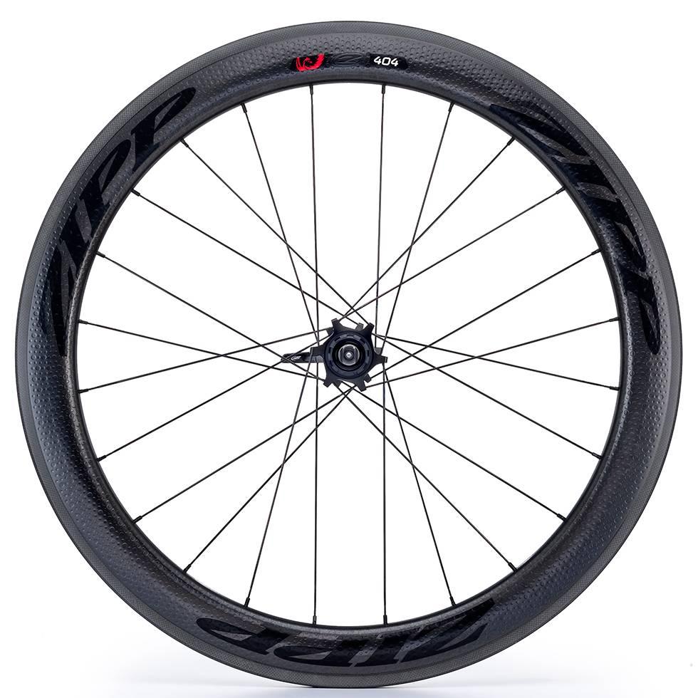 Zipp Speed Weaponry Zipp 404 Firecrest Carbon Clincher Rear Wheel, 700c, V3, 11-speed, SRAM / Shimano, Black Decal
