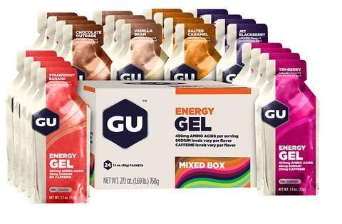GU GU Energy Gel Box 24