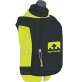Nathan Nathan SpeedShot Plus Insulated Handheld Hydration with 12oz Bottle: Black/Yellow