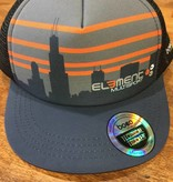 BOCO Gear Element Skyline Foam Technical Trucker Hat by BOCO Gear
