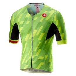 Castelli Castelli Men's Free Speed Race Jersey Pro Green