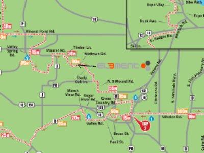 Ironman Wisconsin Cheer Station