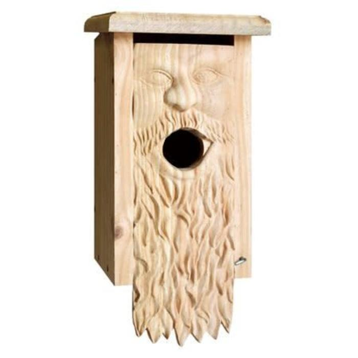 Welliver Carved Bluebird House