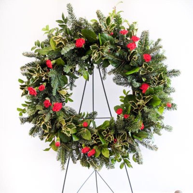 Christmas Woodland Wreath