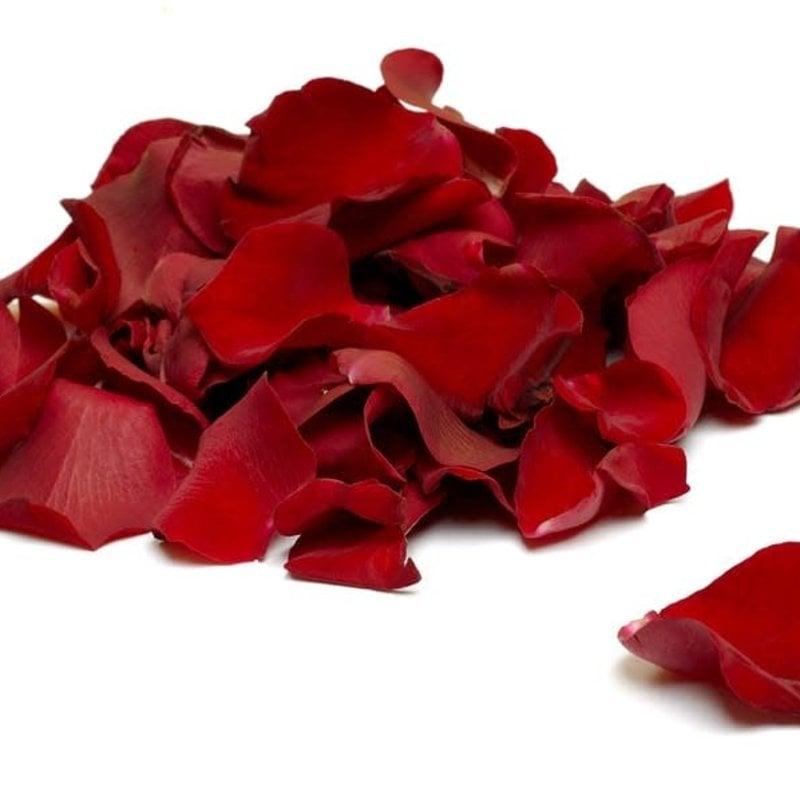 Box Red Rose Petals