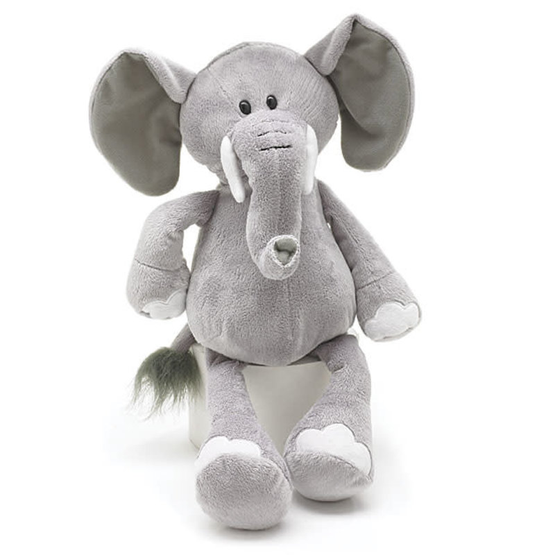 Plush Gray Elephant
