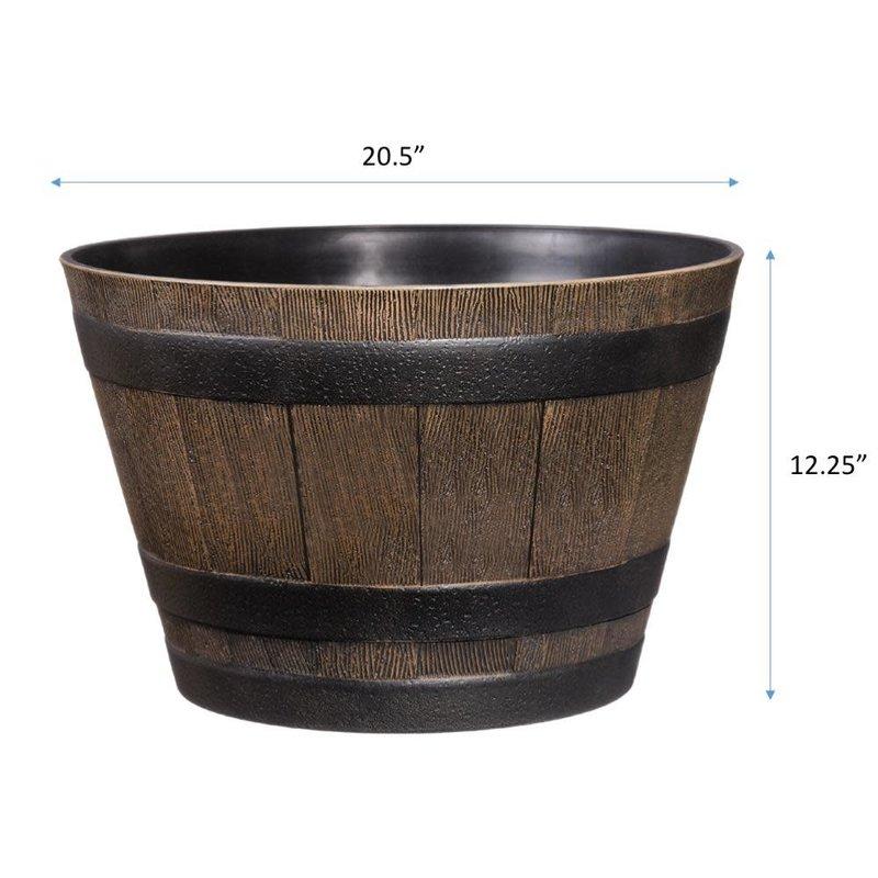 "PL Whiskey Barrel 20"""