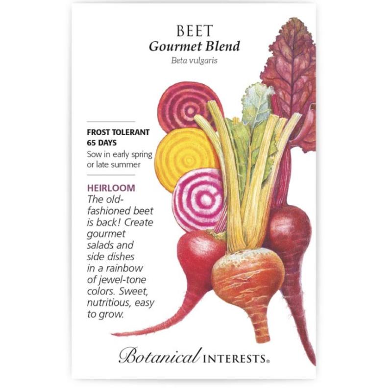 BI Seed, Beet Gourmet Blend Org