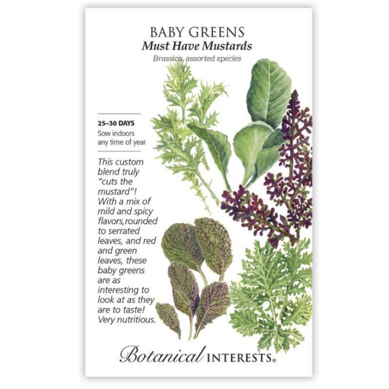 BI Seed, Baby Greens Must Have Mustard