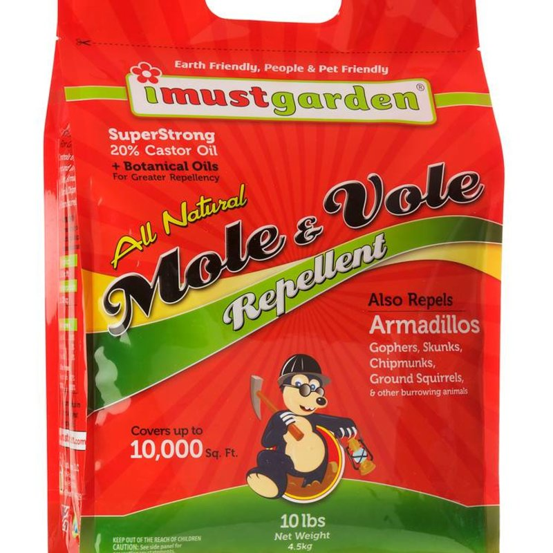 I Must Garden IMG Mole & Vole Repellent 10# Granules