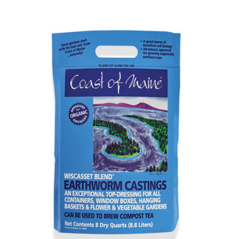 COM Wiscasset Earthworm Castings 8 Qt