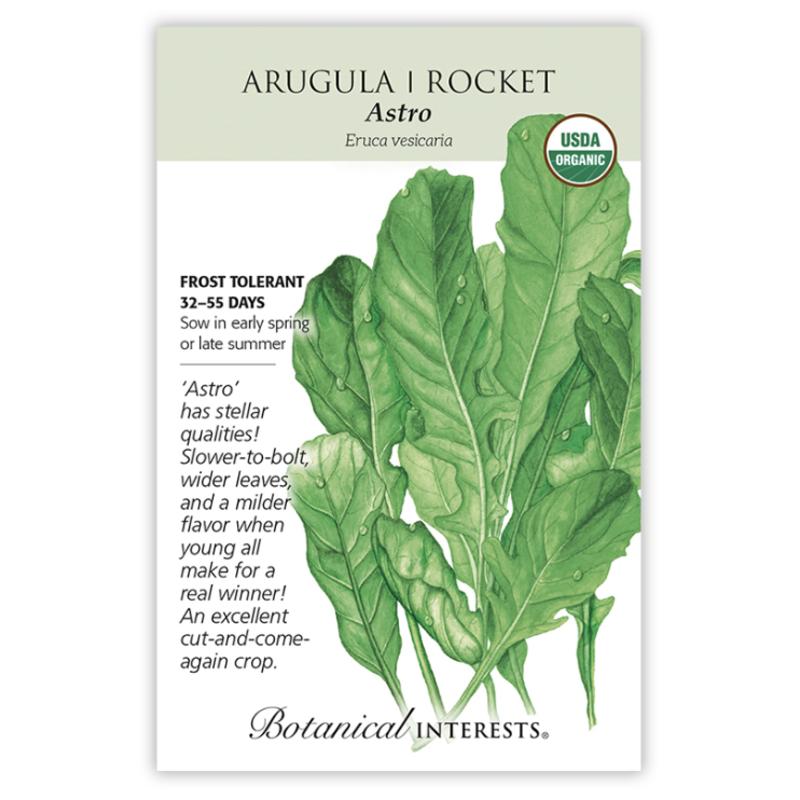 BI Seed, Arugula Rocket Astro Org