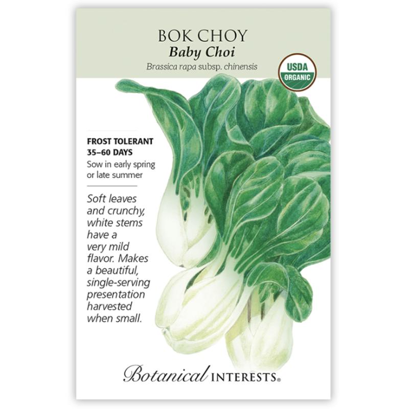 BI Seed, Bok Choy Baby Choi Org