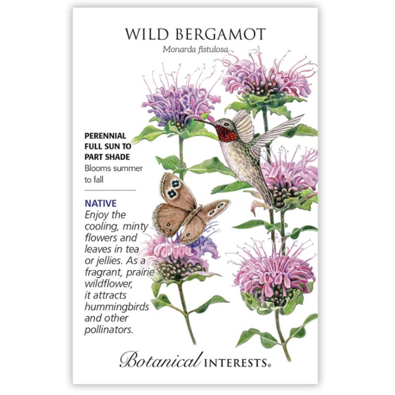 BI Seed, Bergamot Wild