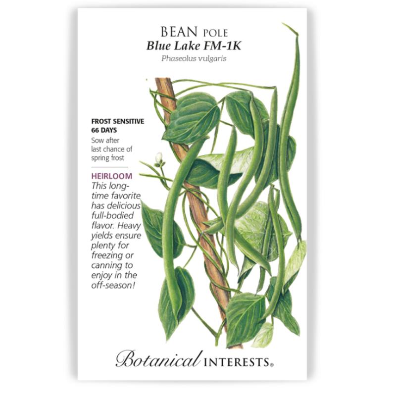 BI Seed, Bean Pole Blue Lake FM-1K 60g