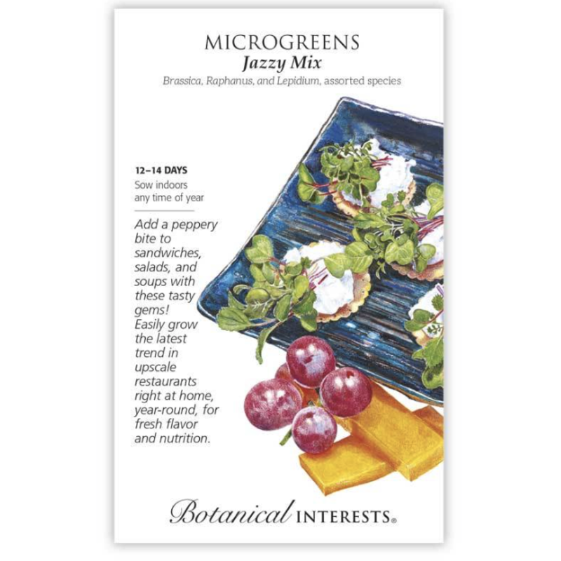 BI Seed, Microgreens Jazzy Mix