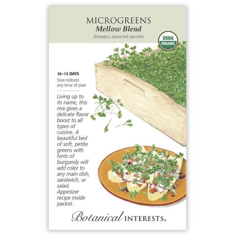 BI Seed, Microgreens Mellow Blend Org