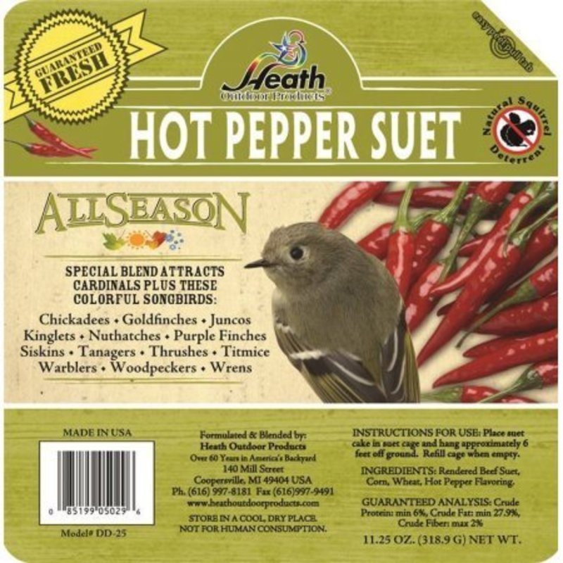 Heath Suet Hot Pepper