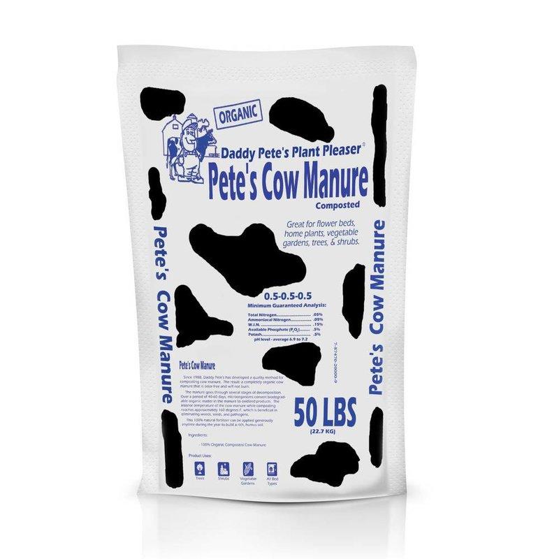 Daddy Pete Cow Organic Manure 50#