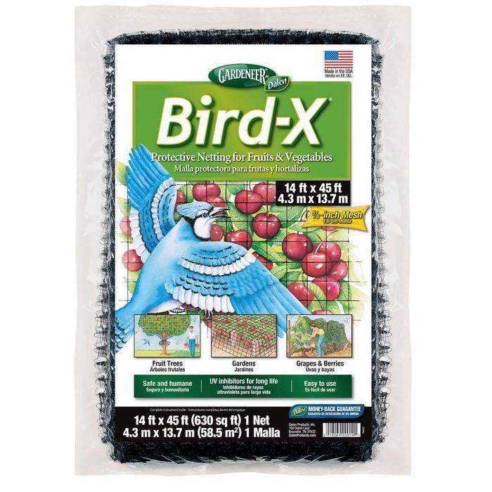 Gardeneer Bird-X Netting 14' x 14'