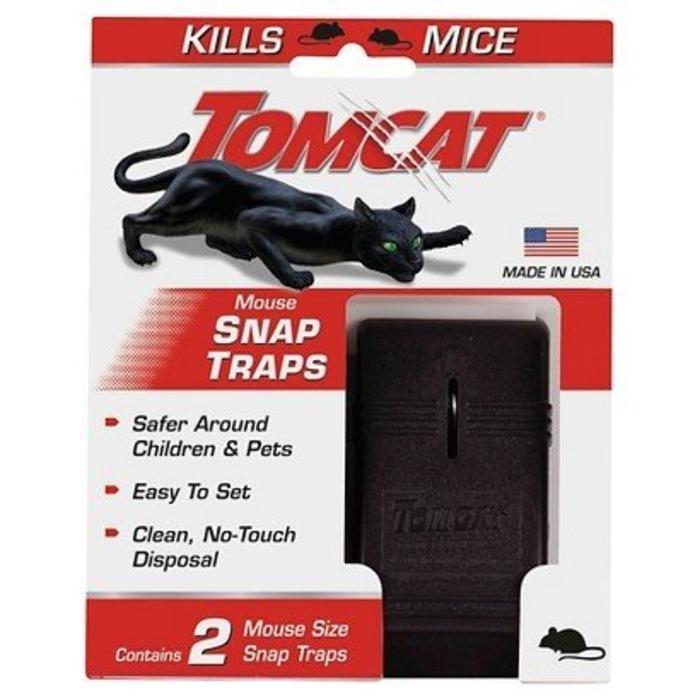 Tomcat Mouse Traps 2 Ct