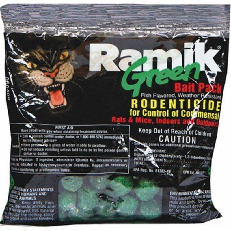 Ramik Green Rat Bait 4 oz