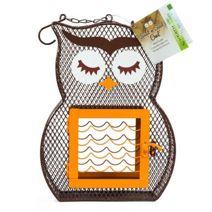 Heath Dual Feeder Owl