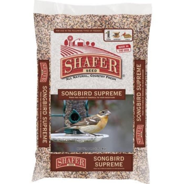 Shafer Songbird Supreme Seed 8#