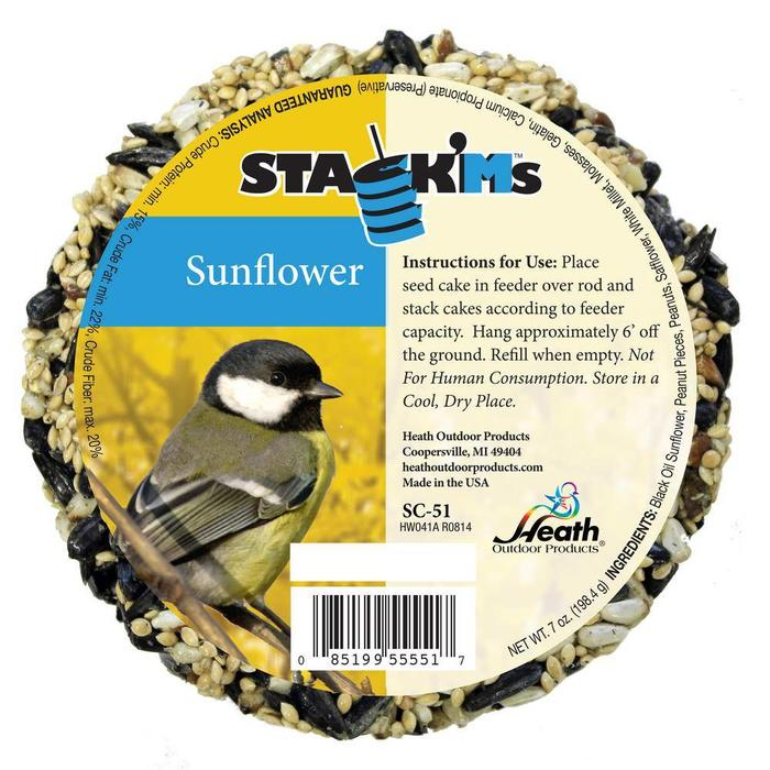 Stack'Ms Sunflower Seed Cake 6.4 oz