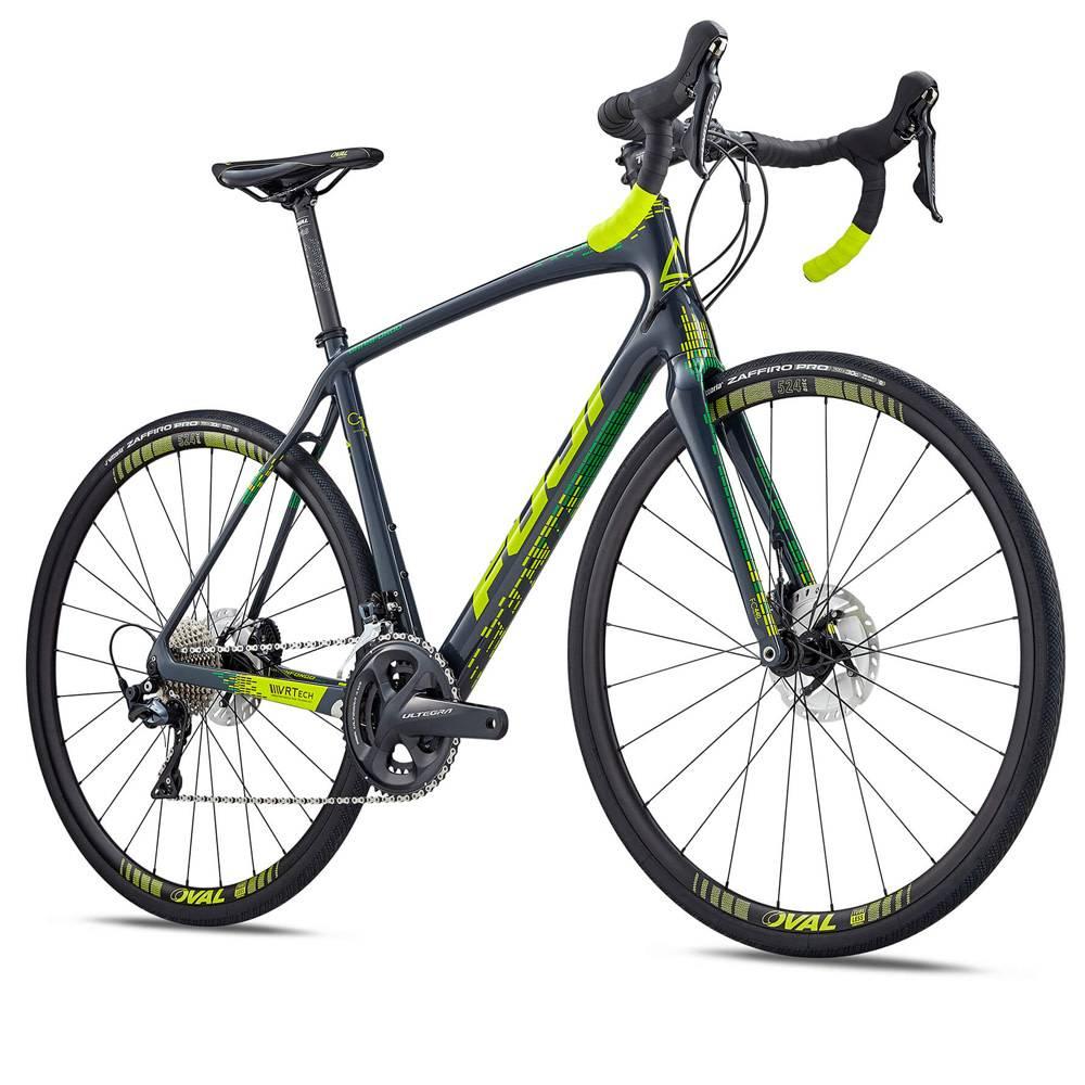 4c5ea39194c 2019 Fuji Gran Fondo 1.3 Carbon Disc Ultegra Road Bike - Nytro ...
