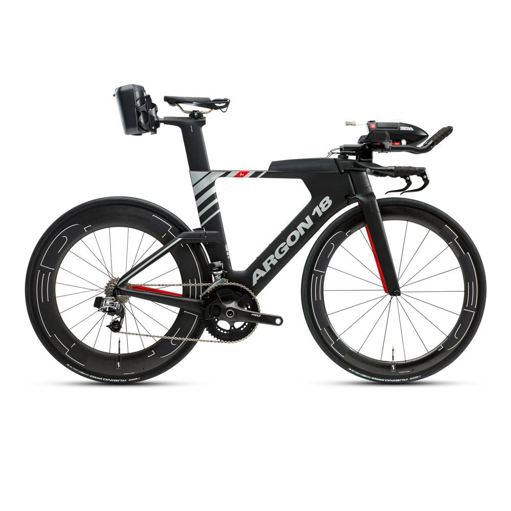 Argon 18 E-119 Tri + SRAM Etap Triathlon Bike. ""