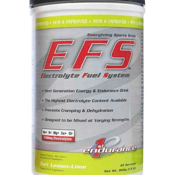 1st Endurance EFS Lemon Lime Drink Mix Can 25 Serv